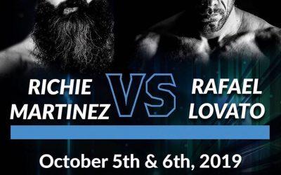 "Richie ""Boogeyman"" Martinez To Face Rafael Lovato Jr. At World Jiu-Jitsu Festival"